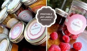 free printable mason jar labels limeshot logo design With cute canning labels