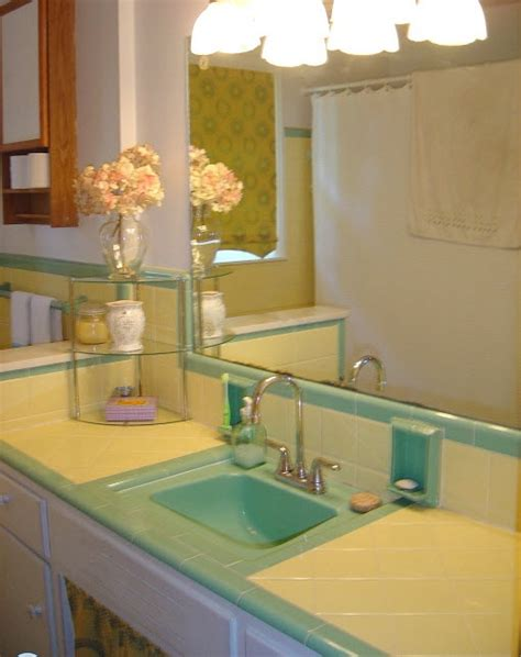 green bathroom tile ideas  pictures