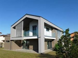 Design Moderno Per La Nuova Villa In Legno Realizzata A Treviglio  Bg    Casainlegn U2026