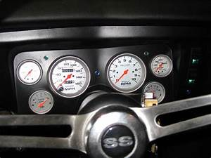 1969 Chevelle  Classic Dash Install With Auto Meter Silver