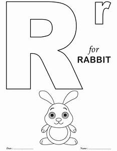 printables alphabet r coloring sheets abc worksheets With letter coloring books