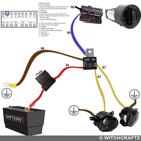 fog light mk4 harness wiring diagram tools automobil