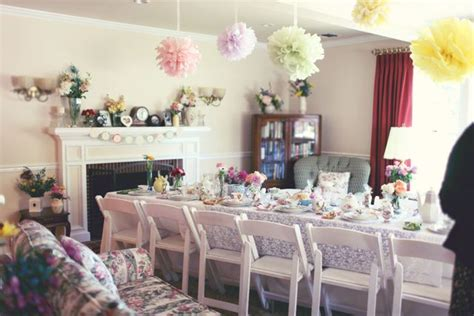 ideas for bridal showers at home bridal shower b lovely events