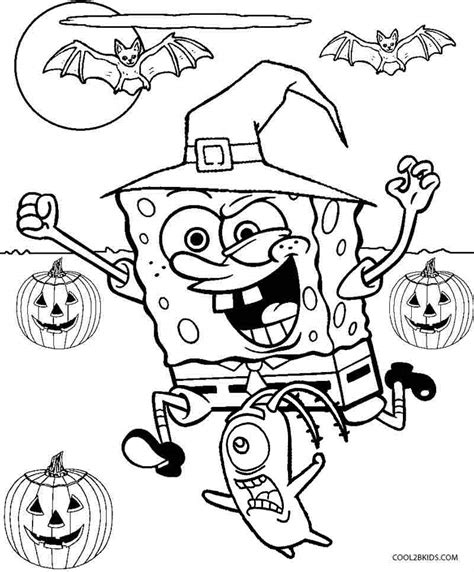 printable spongebob coloring pages  kids coolbkids