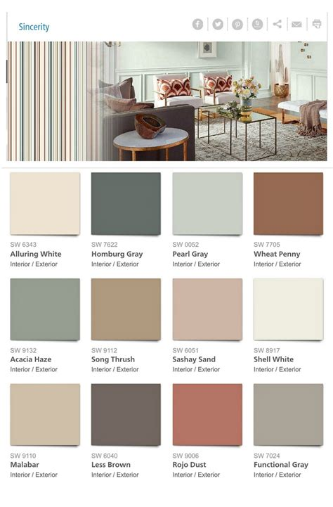 2018 interior color trends sherwin williams