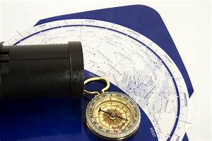 Star Gazing Guide Stock Image  Image Of Telescope  Compass