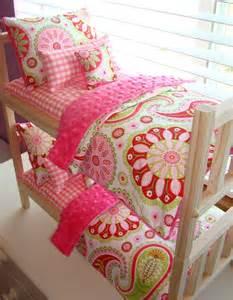 Cute American Girl Doll Bedding