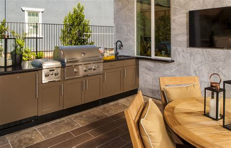 stainless steel base cabinets  outdoor kitchens danver