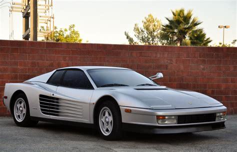 ferrari testarossa classic italian cars  sale