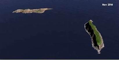Island Hunga Tonga Volcano Exist Didn Teeming