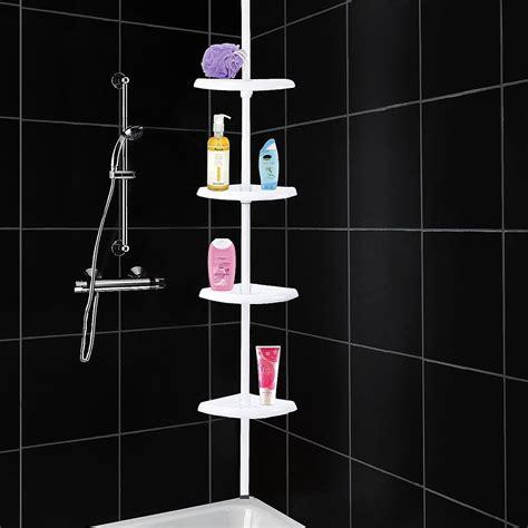 shower corner shelf top 7 corner shelves for bathroom