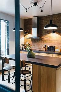 Deco Style Industriel : nuances de bleu style industriel cuisines kitchens ~ Melissatoandfro.com Idées de Décoration