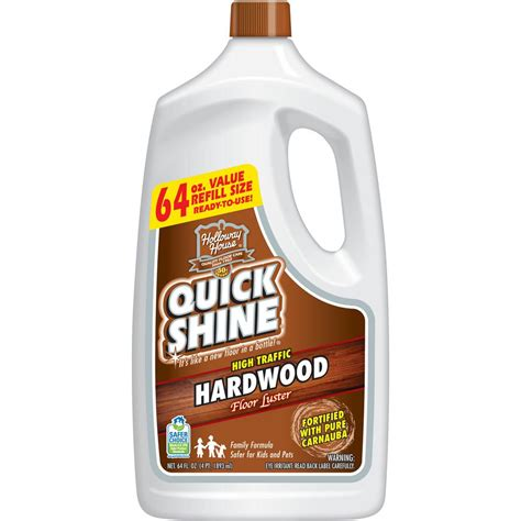 Quick Shine 64 Oz Hardwood Floor Luster51560  The Home