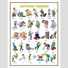 Action Verbs, Action At Home By Englishbee  Teaching Resources Tes