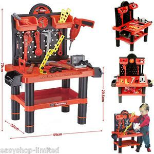 Children S Tool Bench Playset by Childrens 54pc Tool Bench Playset Workshop Tools Kit