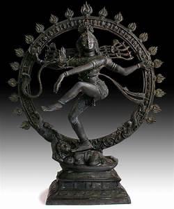 Antique Hindu Dancing Shiva Nataraja Lord of Dance Bronze ...