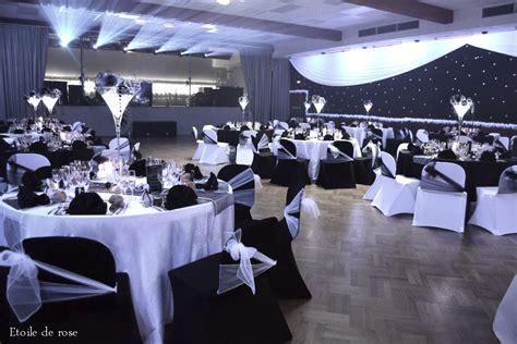 decoration salle mariage noir et blanc