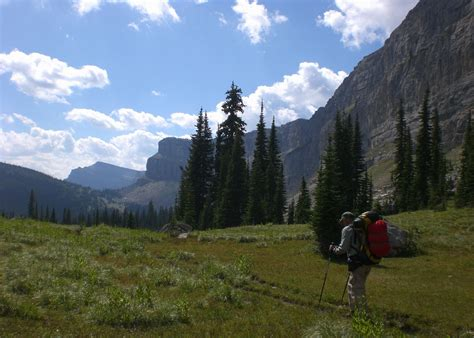 backpack  bob marshall wilderness montana sierra club