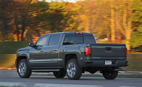 gmc sierra  fuel economy review car  driver