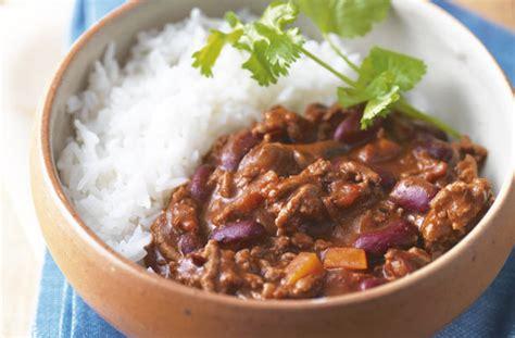chilli  carne recipe goodtoknow