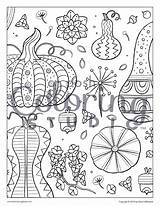 Coloring Adult Gourds Etc Neo sketch template
