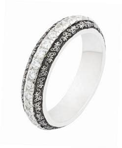mens braided cable and engraved wedding rings by varoujan jewellers