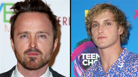 aaron paul and logan paul tom hardy compares his new venom movie to ren and