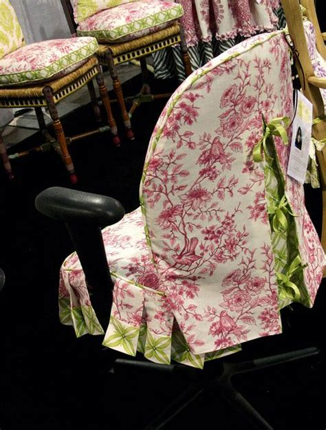 desk chair slipcover one of my office chair slipcovers i did for jackie