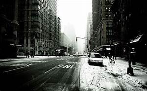 Bild New York Schwarz Weiß : wallpaper hochaufl sende schwarz wei bild eines schneebedeckten new york ~ Bigdaddyawards.com Haus und Dekorationen