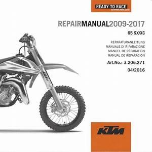 Aomc Mx  Ktm Dvd Repair Manual 65 Sx  Xc 09
