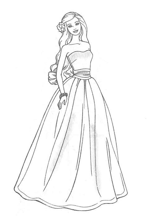 barbie princess drawing  getdrawings