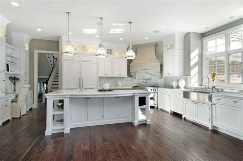 eat in kitchen island designs 53 spacious quot new construction quot custom luxury kitchen