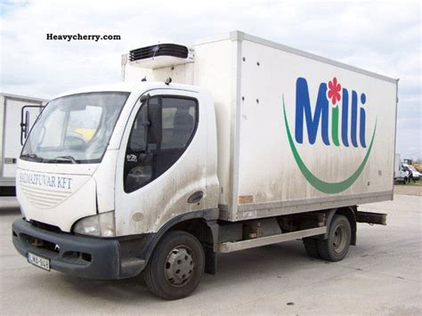 Daewoo Avia D 75 N 2003 Refrigerator Body Truck Photo And