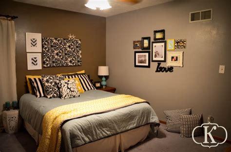 Best 25+ Gray Yellow Bedrooms Ideas On Pinterest