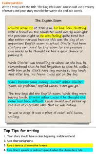English Short Story Writing