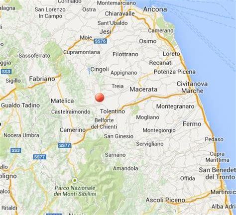 Meteo Porto Recanati Domani by Terremoto In Tempo Reale Numerose Scosse A Macerata