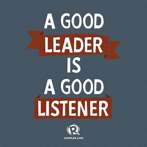 Being A Good Leader Quotes. QuotesGram