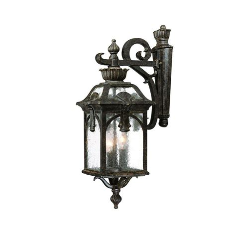 acclaim lighting belmont collection 3 light black coral