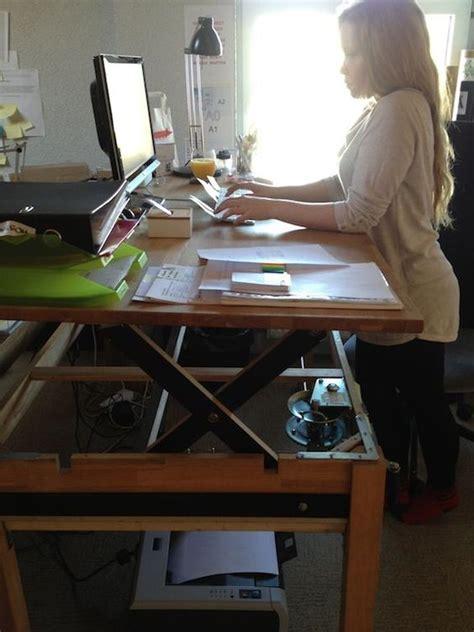 diy standing desk classroom diy standing desk classroom adjustable sit stand desk 9