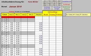 Arbeitszeit Mit Excel Berechnen : excel arbeitszeitmodul download kostenlos juli 2018 giga ~ Themetempest.com Abrechnung