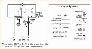 Typical Defrost Timer Wiring Diagram