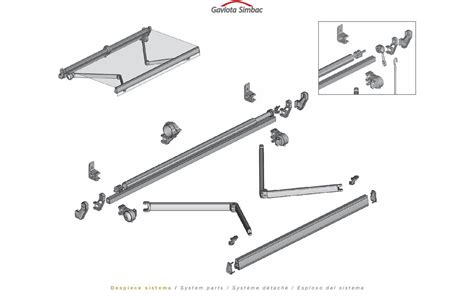 sunsetter replacement awning retractable parts spare uk