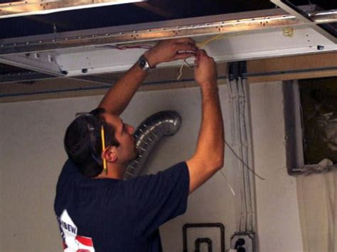 installing a drop ceiling in a basement laundry hgtv