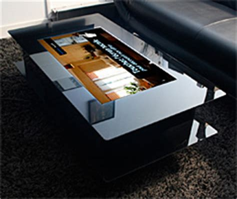 siege weldom table basse tactile