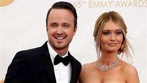 Aaron Paul Can't Stop Gushing About His Wife, Lauren ...