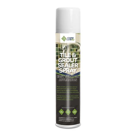 tile grout sealer 600ml aerosol spray sealant