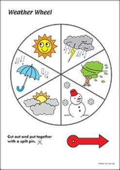 weather wheel activity bundle  maple leaf learning tpt