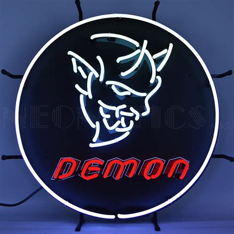 50s home decor dodge auto neon sign neon led signs every