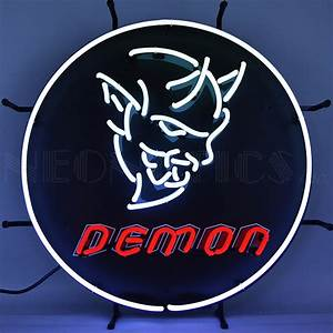 Dodge Demon Auto Neon Sign Neon & LED Signs - Every
