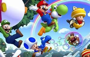 Super Mario bros 2 Wii U Wallpaper Gamebud